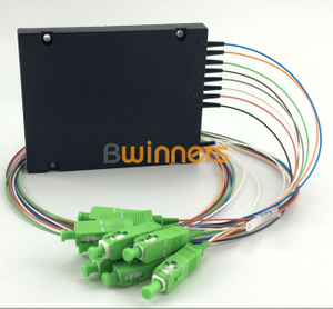BWINNERS BWN-PLC-CT-1X8 Cassette Type 1x8 PLC Splitter, with SC/APC Connector