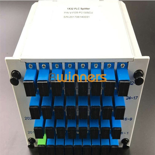 BWINNERS BWN-PLC-IM-1X32 Insertion Module 1x32 PLC Splitter, with SC/APC Connector