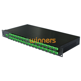 BWINNERS BWN-PLC-RM-1X32 19 Inch 1U Rack Mounted 1x32 PLC Splitter, with SC/APC Connector