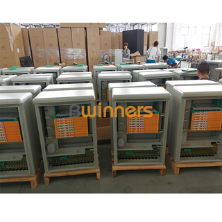 BWINNERS SJ-OCC-SS-144-1 Stainless Steel Fiber Optical Cross Connect Cabinets OCC 144 Fibers