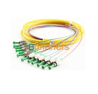 BWINNERS 12 Core SM FC/APC Ribbon Optic Cable Pigtail/ Patchcord Jumper Cable Pigtail