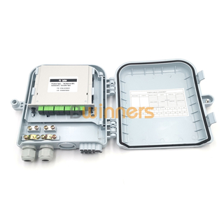 BWINNERS SJ-ODB-SQ11 1x8 PLC Splitter FTTX Outdoor Fibre Optic Termination Box Splitter Distribution Box