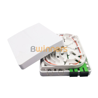 BWINNERS SJ-FTTH-SK-6 2 Ports FTTH Fiber Optical Faceplate Fiber Wall Socket