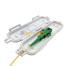 BWINNERS SJ-FTTH-SK-2W Drop Cable Waterproof Protection Box Optical Fiber Protection Box Tube Heat Shrink Tubing