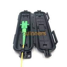 BWINNERS SJ-FTTH-SK-2B Drop Cable Waterproof Protection Box Optical Fiber Protection Box Tube Heat Shrink Tubing