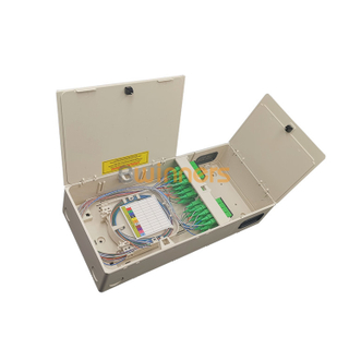 New Compact Type 32 Fiber FTTH Optical Distribution Box with PLC Splitter